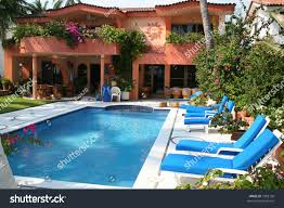Pool Home Luxury Tropical Pool Luxury Home Stock Photo 7282138 Shutterstock