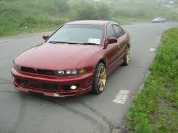 stanced mitsubishi galant 1997 mitsubishi galant vii sedan u2013 pictures information and specs