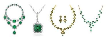 necklace designs making images 9 indian gold and diamond emerald necklace set designs jpg