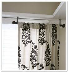Hang Curtains From Ceiling Ceiling Curtain Rod Eulanguages Net