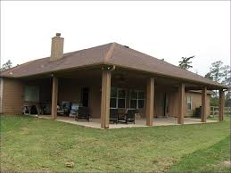 Metal Patio Covers Cost by Outdoor Ideas Build Awning Over Deck Patio Kits Attached Patio