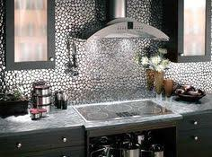 Unique Kitchen Backsplash Shining Gold Kitchen Backsplash Tile And L Metallic Home