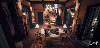 Halliwell Manor Floor Plans by Halliwell Manor Ue4 Charmed House Next Gen Gaming Project