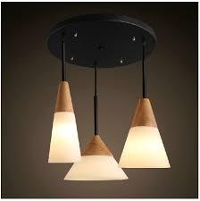 buy light fixtures online scandinavian pendant lights oak glass iron dinning room pendant
