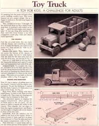 2779 wooden toy truck plans wooden toy plans otto pinterest