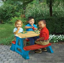 Children Patio Furniture by American Plastic Toys Kid Sized Picnic Table