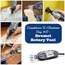 countdown to christmas day 17 diy projects with dremel rotary