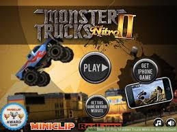 How To Play Monster Truck Nitro On Miniclip Com 6 Steps