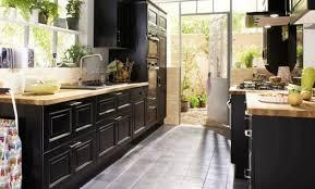 cuisine noir et jaune décoration cuisine noir et prune 83 boulogne billancourt photo