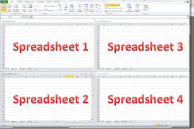 Mac Spreadsheet Program How Do I View Two Excel Spreadsheets At A Time Libroediting