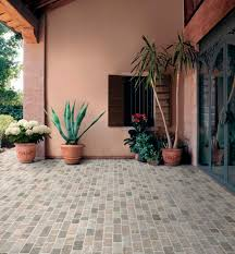 Cobblestone Ideas by Floor Design Awesome Grey Stone Cobblestone Tile Flooring
