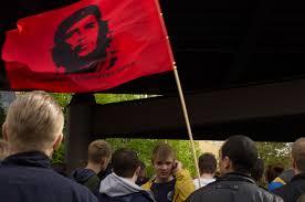 Che Guevara Flag Berlin Myfest May Day In Kreuzberg U2013 Fms