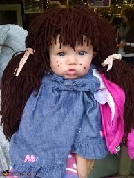Homemade Cabbage Patch Kid Halloween Costume Cabbage Patch Kid Baby Halloween Costume Idea