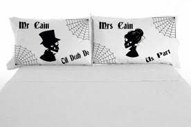 Customized Wedding Gift Hand Painted Personalized Pillow Cases