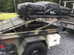 military trailer camper for sale m416 1 4 ton military expo bugout trailer with air