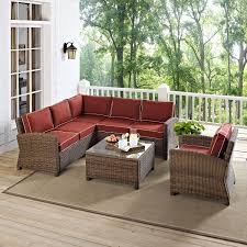 Patio Coffee Table Set by Destin 3 Piece Outdoor Sectional Chair And Cocktail Table Set