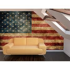 Vintage Flag Art Vintage American Flag Wall Art Takuice Com