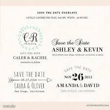 digital save the date digital save the date template overlays wedding photoshop
