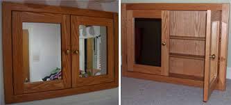 Shaker Medicine Cabinet 2 Door Recessed Medicine Cabinet