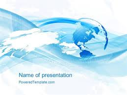 globe powerpoint template free globe model and world map