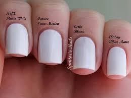 white pink nail polish essie images