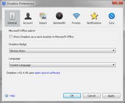 dropbox windows solved start dropbox on system startup option missing f