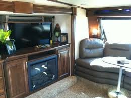 5th Wheel Living Room Up Front by Rushmore 5th Wheels Lincoln