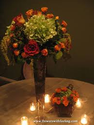 Fall Flowers For Wedding How To Make A Simple Lighted Fall Centerpiece Simply Southern Mom