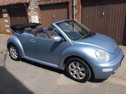 vw beetle convertible baby blue 2005 2l petrol mot until march