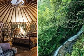 yurts offer luxury in the rugged nantahala gorge u2013 our state magazine