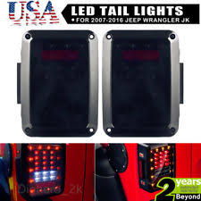 Jeep Tj Led Tail Lights Jeep Wrangler Led Tail Lights Ebay