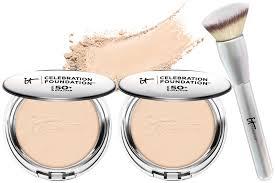 it cosmetics celebration foundation light it cosmetics supersize celebration foundation heavenly brush
