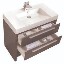 Rona Bathroom Vanity by Relax Vanity Set 2 Drawers And 1 Shelf Silver Grey Rona