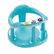 siege pour bain thermobaby anneau de bain aquababy turquoise gris bleu turquoise