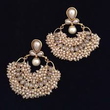 earring online buy chandni pearl traditional india made jewellery