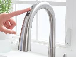 touchless faucets kitchen trend for excellence touchless kitchen faucet kitchen faucets
