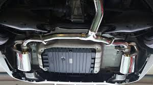 mercedes land rover matte black armytrix stainless steel valvetronic exhaust system quad matte