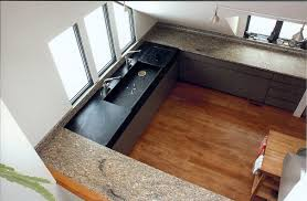Soapstone Kitchen Sinks Alluring Black Color Soapstone Kitchen Countertops Features White