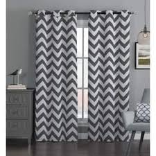 White Chevron Curtains Chevron Curtains Drapes For Less Overstock