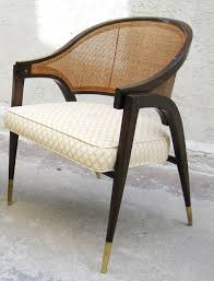 pair of edward wormley for dunbar captain chairs at 1stdibs