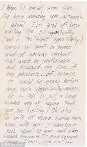 jerry garcia u0027s love letters expected to fetch 15 000 at auction