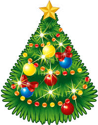 transparent christmas tree with star png clipart gallery