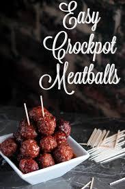 bbq and grape jelly crockpot meatballs sundaysupper big s