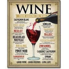 affiche deco cuisine plaque publicitaire wine deco bar a vin diner loft cuisine tole