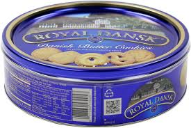 Bulk Cookie Tins Amazon Com Danish Butter Cookies 4 Pound