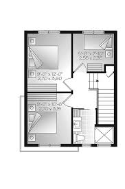 contemporary house floor plans saffold modern home plan 032d 0807 house plans and more