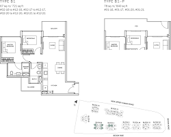 the glades condo floor plan u2013 2br suite u2013 b1 u2013 67 sqm 721 sqft b1