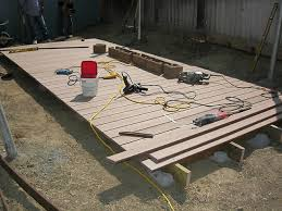 How To Make A Shed Out Of Wood by How To Build A Floating Deck How Tos Diy