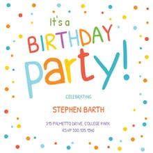 birthday party invitations free birthday invitation templates for kids greetings island