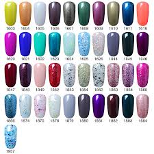 elite99 177 colors soak off uv gel nail polish manicure pedicure